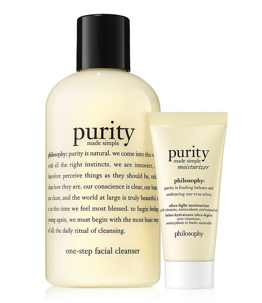 philosophy Purity Cleanser Duo
