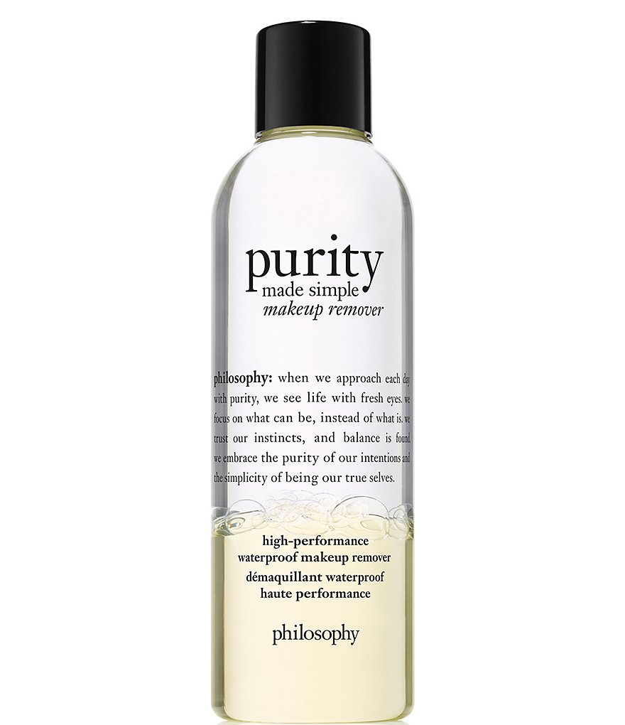 fed4b90174 philosophy Purity Made Simple High-Performance Waterproof Makeup Remover