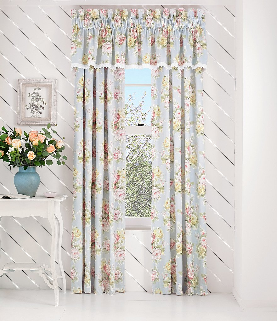 Piper & Wright Stella Floral Window Treatments
