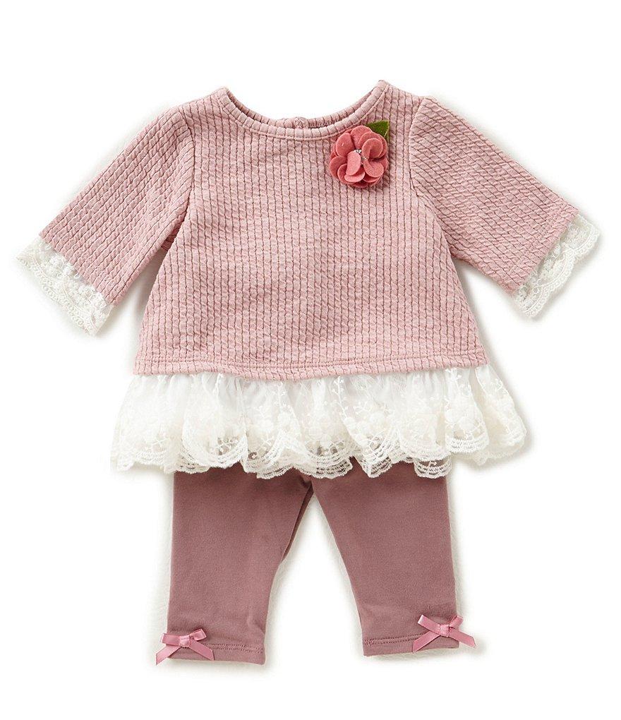 Pippa & Julie Baby Girls Newborn 24 Months Dress & Capri