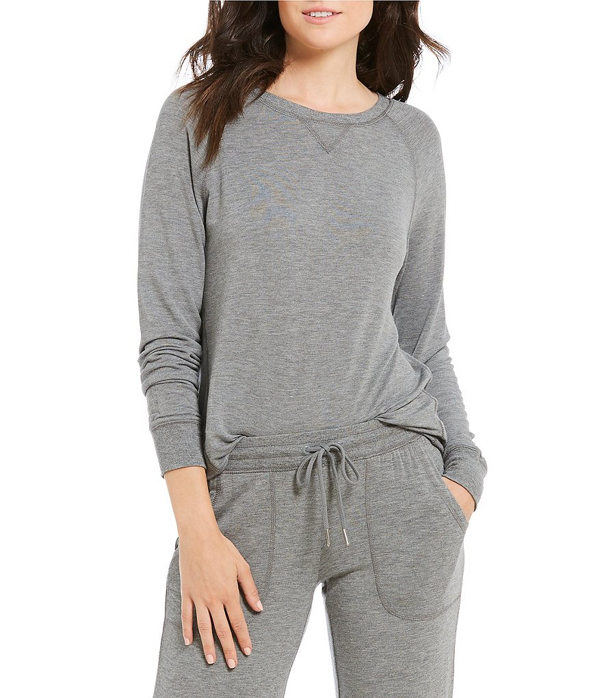PJ Salvage Hi-Low Jersey Lounge Top