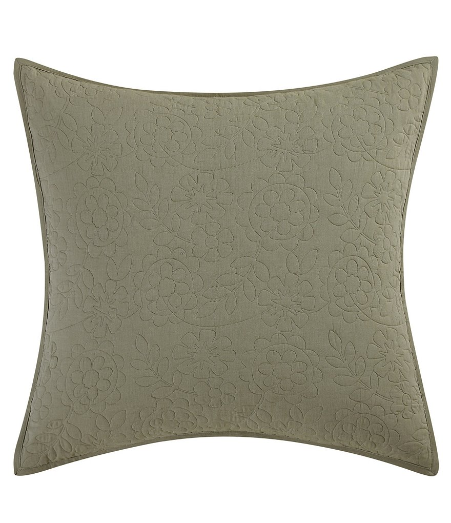 Poetic Wanderlust™ by Tracy Porter Mathilde Floral-Quilted Euro Sham