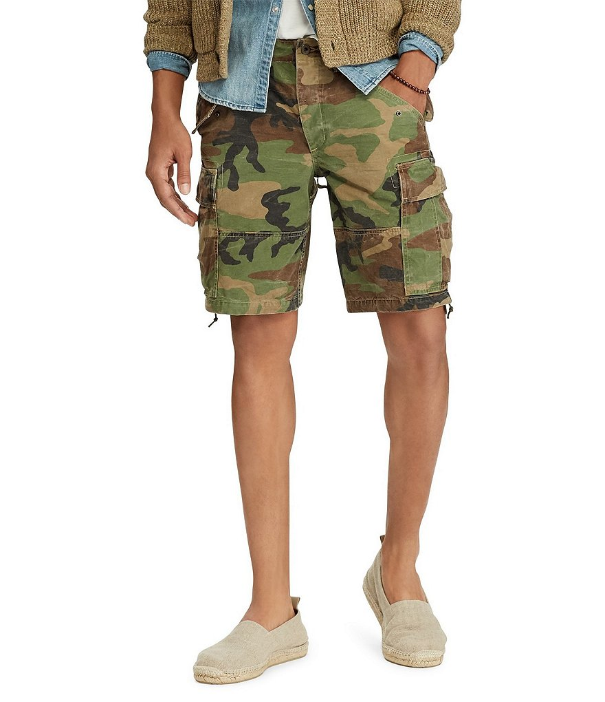 Polo Ralph Lauren Big & Tall Classic Fit Camo Cargo Shorts