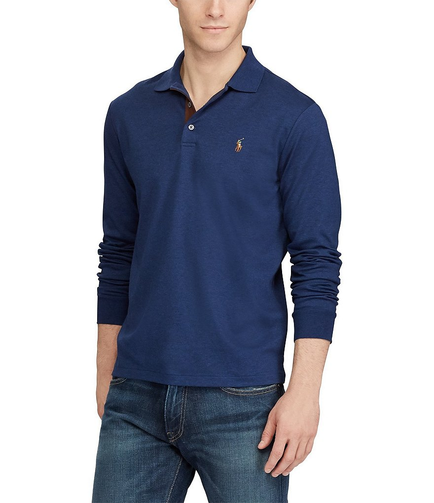 Polo Ralph Lauren Big & Tall Classic-Fit Soft-Touch Long-Sleeve Polo Shirt