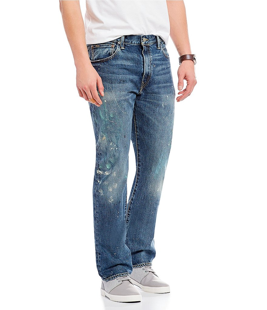 Polo Ralph Lauren Big & Tall Hampton Relaxed Straight-Fit Denim Jeans
