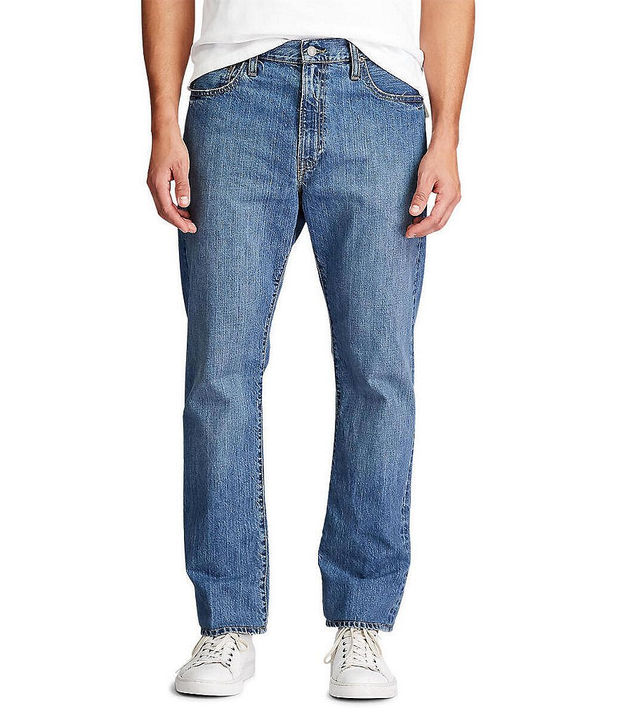 Polo Ralph Lauren Big & Tall Lightweight Straight-Fit Stanton-Wash Jeans