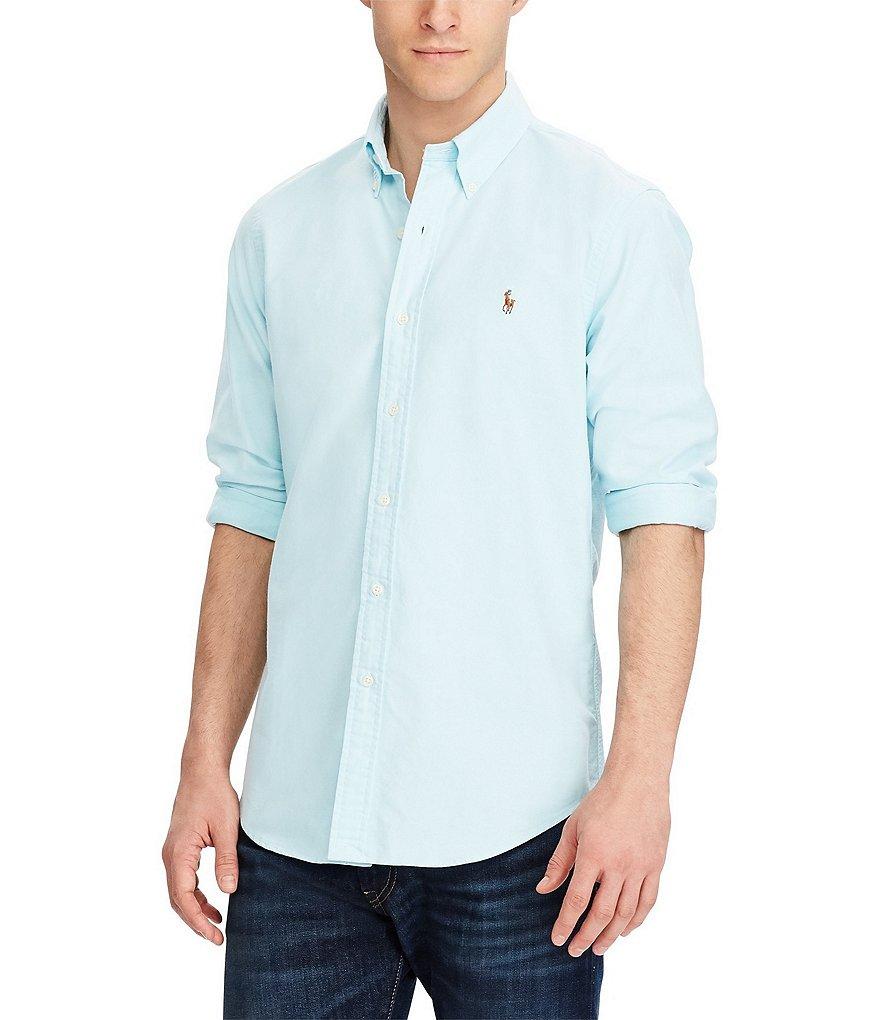 972b021ba14d Polo Ralph Lauren Big   Tall Solid Oxford Shirt
