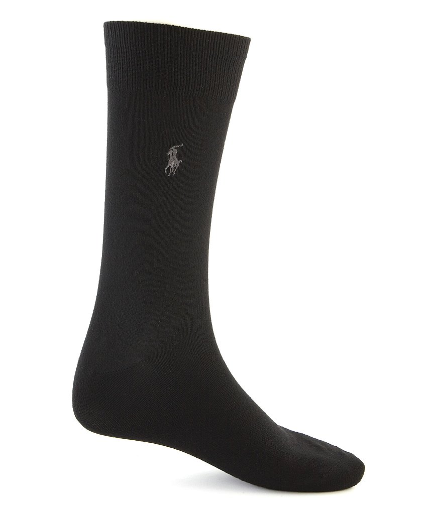 Polo Ralph Lauren Big & Tall Super Soft Dress Socks 3-Pack