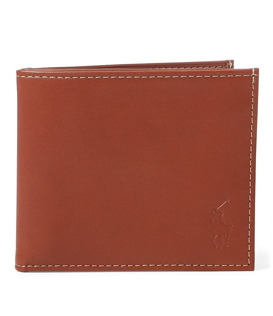 Polo Ralph Lauren Burnished Leather Billfold
