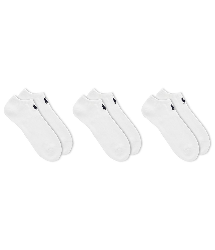 Polo Ralph Lauren Classic Cotton-Blend Socks 3-Pack