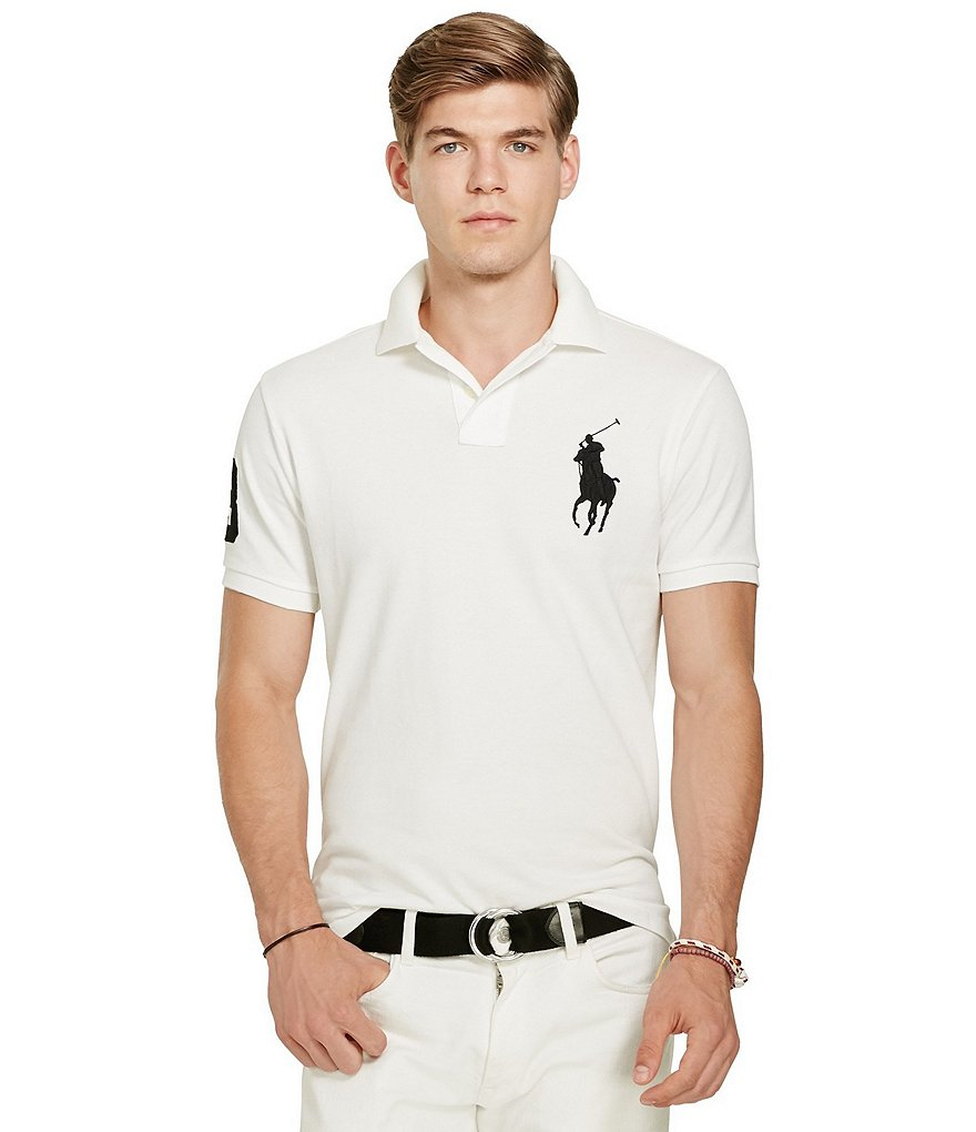 Polo Ralph Lauren Classic-Fit Big Pony Short-Sleeve Solid Polo Shirt