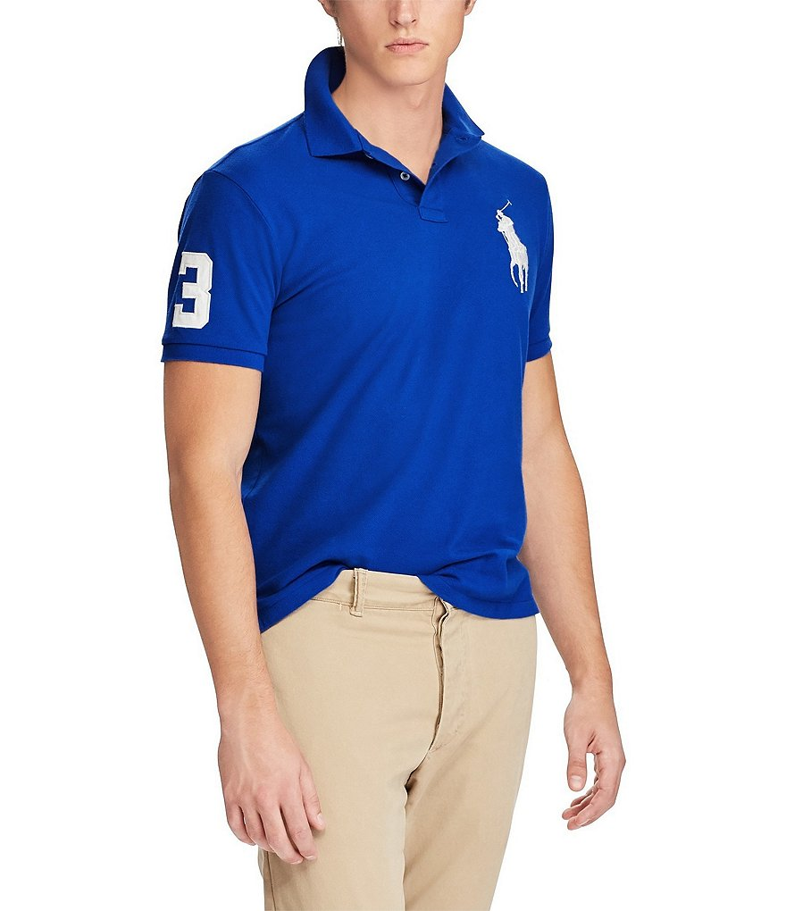 Polo Ralph Lauren Classic-Fit Big Pony Short-Sleeve Polo Shirt