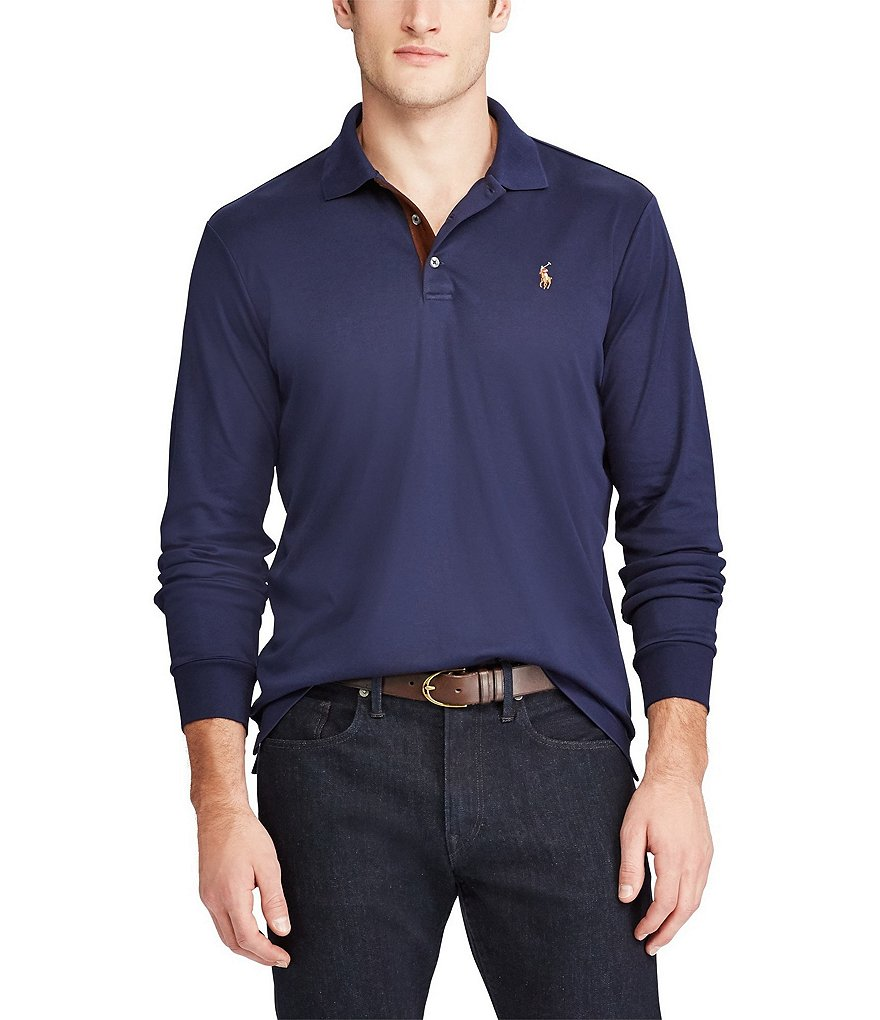 Polo Ralph Lauren Classic-Fit Soft-Touch Long-Sleeve Polo Shirt
