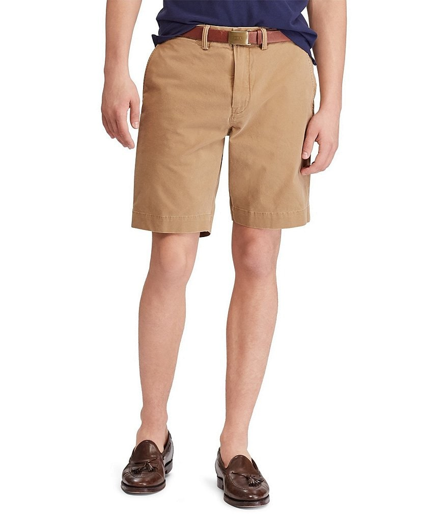 Polo Ralph Lauren Classic-Fit Stretch 9 1/2#double; Twill Shorts