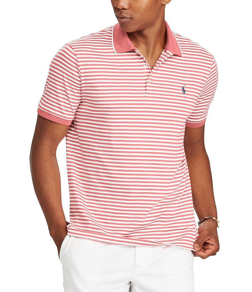 Polo Ralph Lauren Classic-Fit Striped Short-Sleeve Polo Shirt