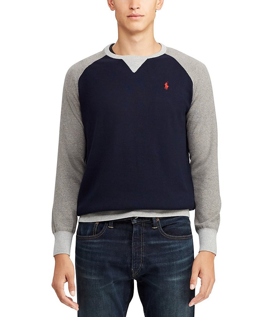 Polo Ralph Lauren Color Block Raglan Sweater