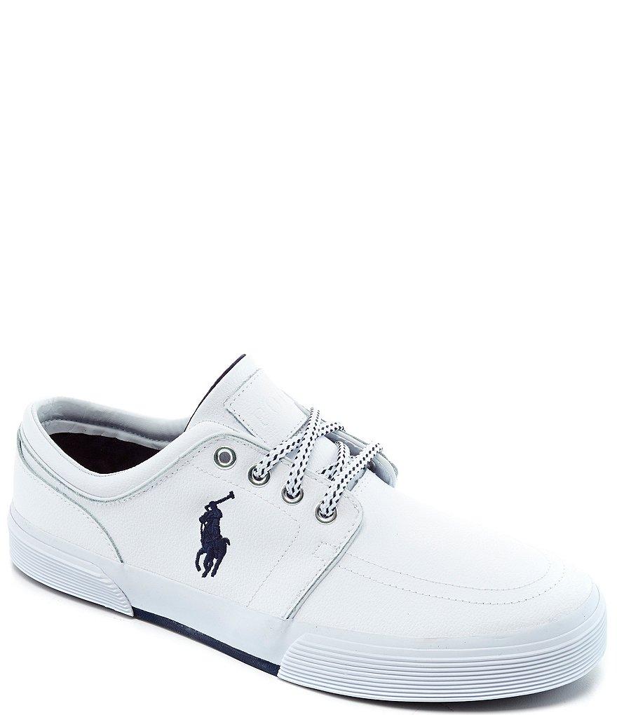 Polo Ralph Lauren Mens Faxon Low Casual Sneakers