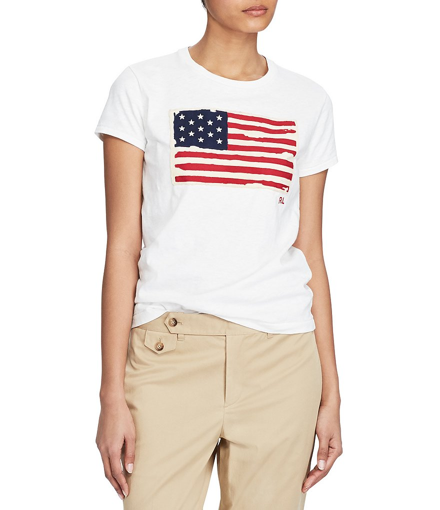 Polo Ralph Lauren Flag Cotton Tee