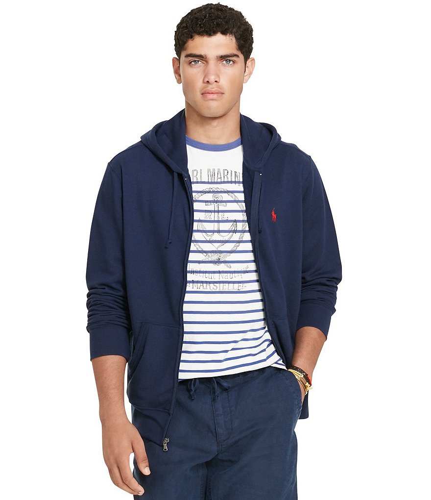 Polo Ralph Lauren Full-Zip French Terry Hoodie