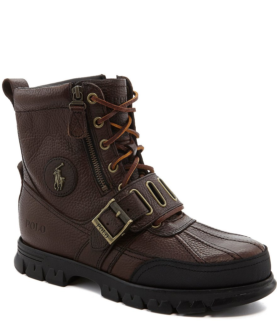 Andes III Leather Lace-Up Boots