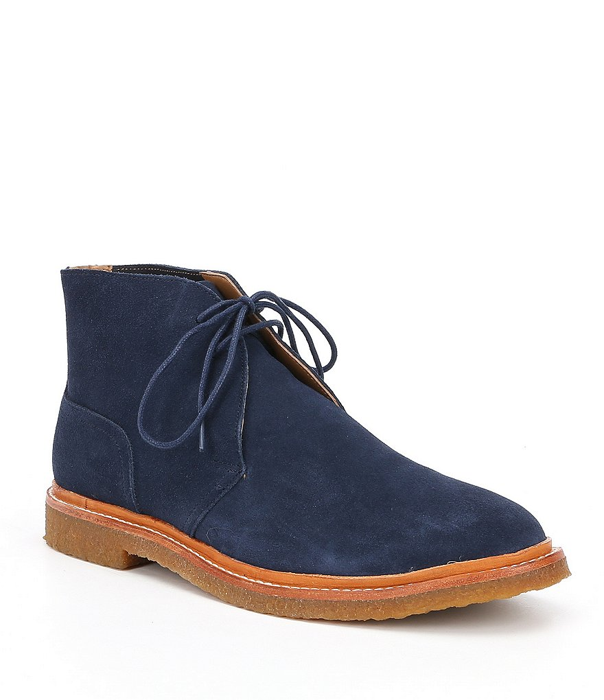 Polo Ralph Lauren Men's Karlyle Suede Chukka Boots