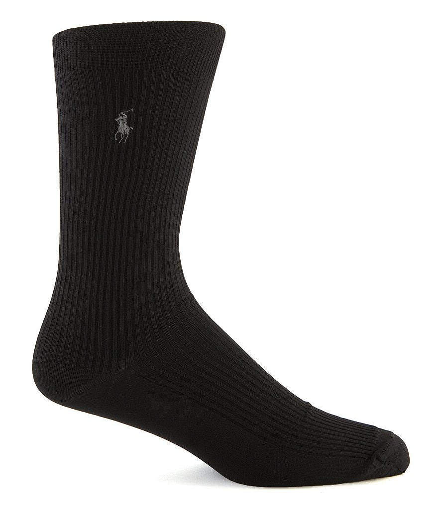 Polo Ralph Lauren Microfiber Dress Socks 3-Pack