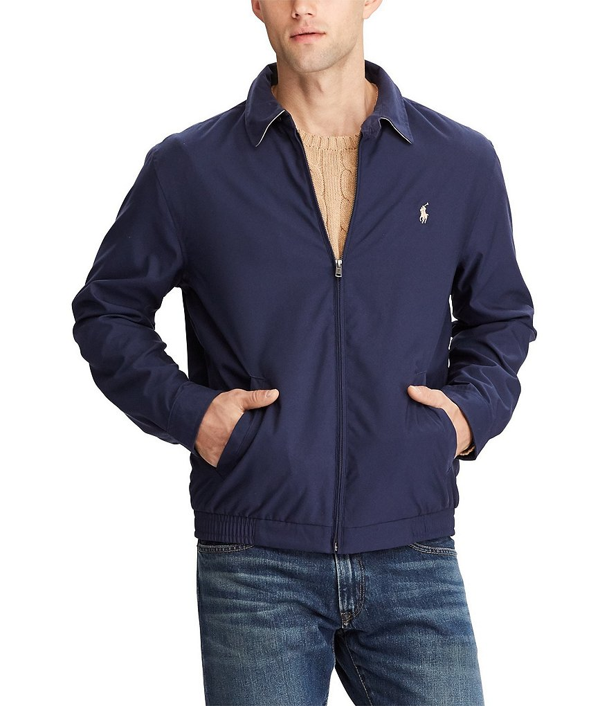Polo Ralph Lauren Microfiber Sueded Polyester Windbreaker | Dillards