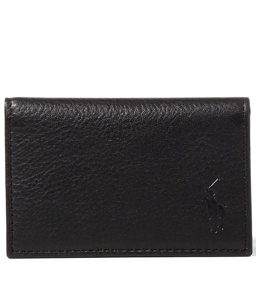 Polo Ralph Lauren Pebble Leather Slim Card Case