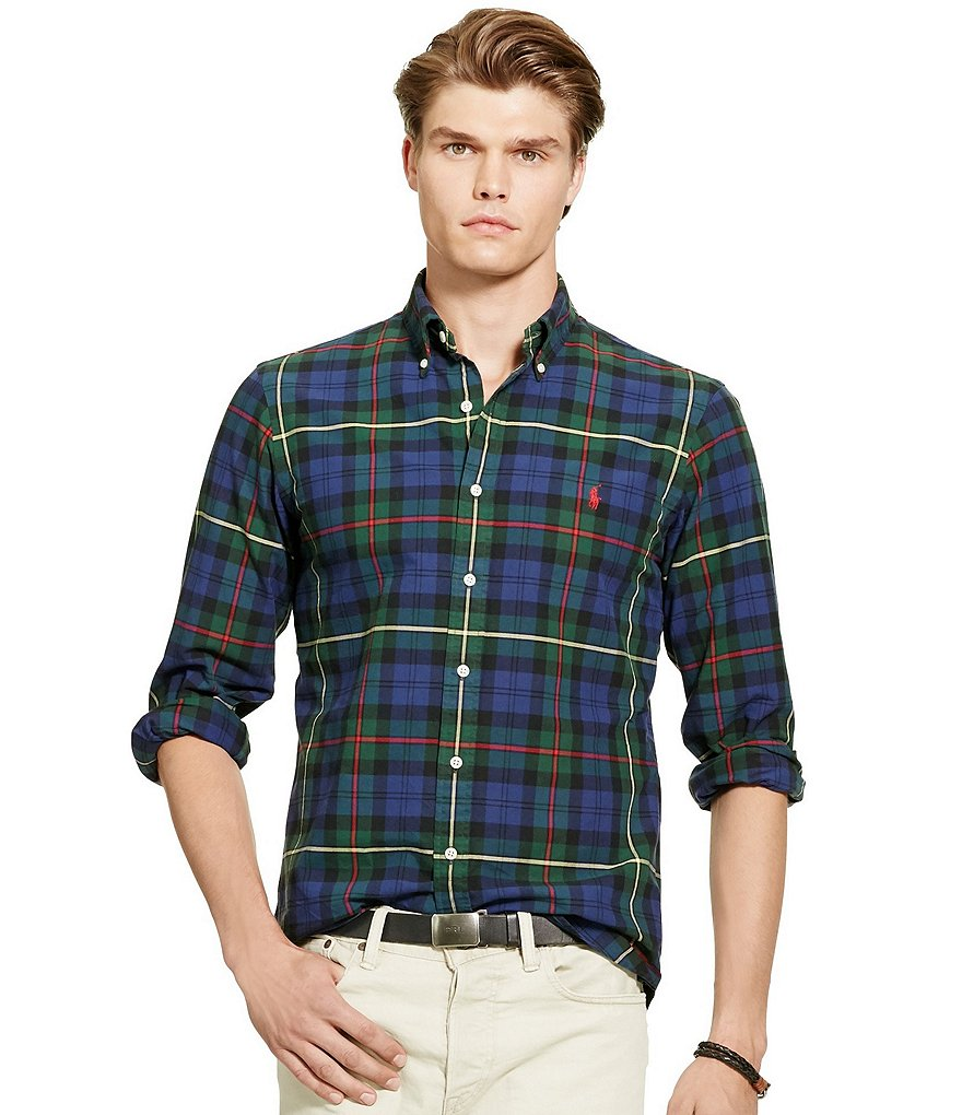 Polo Ralph Lauren Plaid Oxford Sportshirt