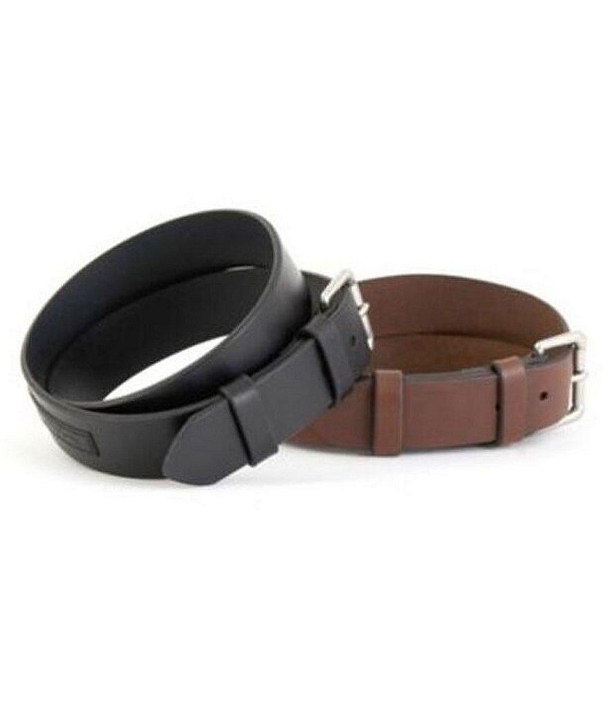 Polo Ralph Lauren Saddle Logo Patch Leather Belt Dillard S