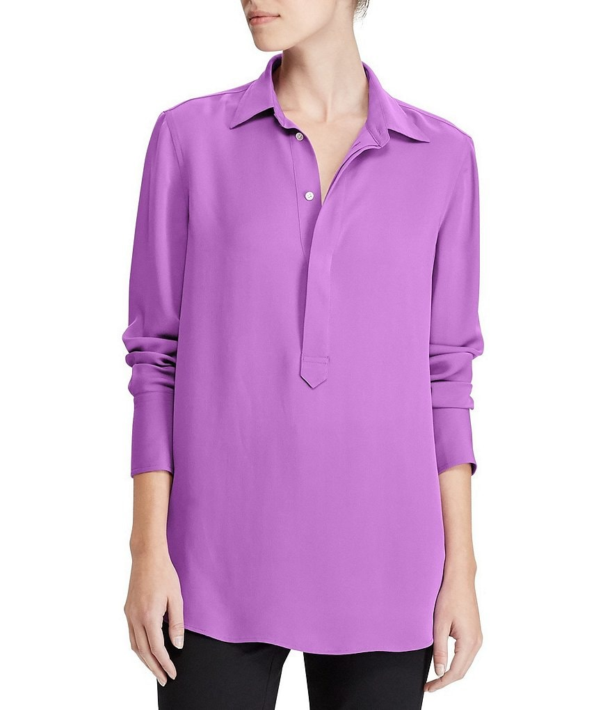 Polo Ralph Lauren Silk Georgette Blouse