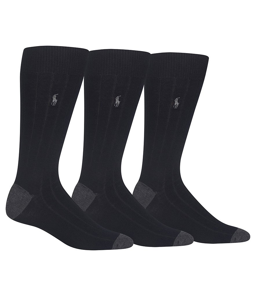 Polo Ralph Lauren Soft Touch Dress Socks 3-Pack