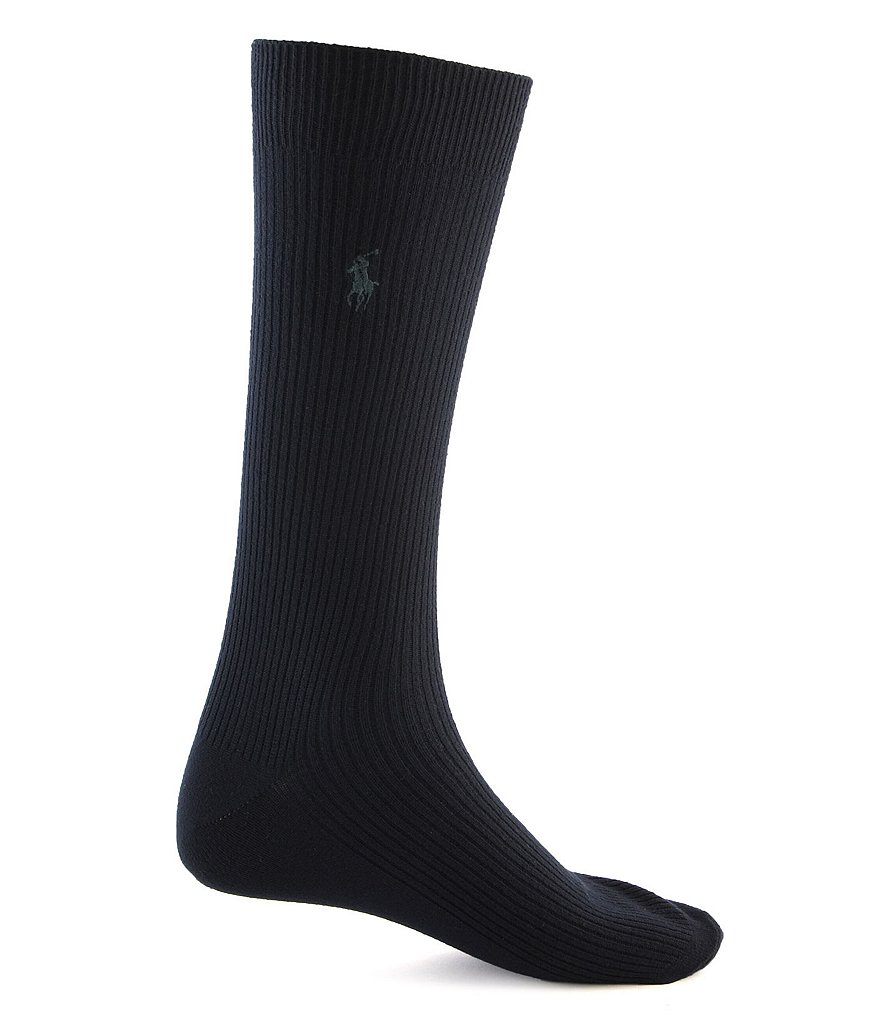 Polo Ralph Lauren Super Soft Ribbed Dress Socks