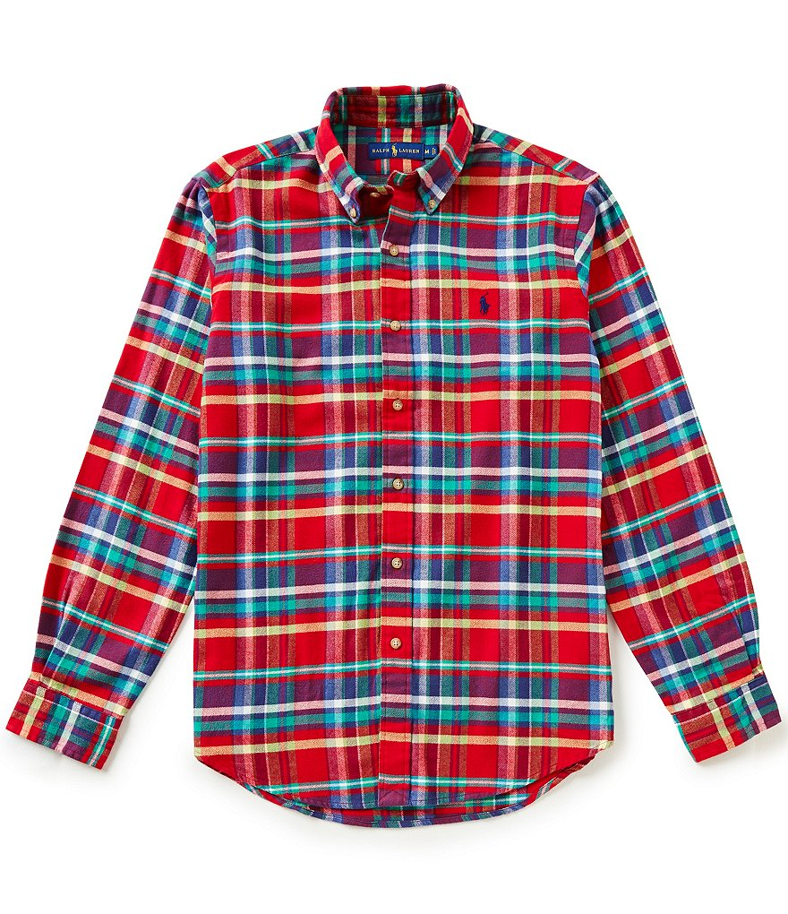 Polo Ralph Lauren Twill Plaid Shirt