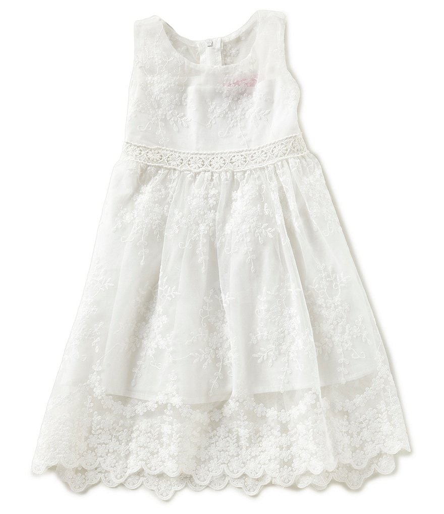 Popatu Little Girls 2-6 Lace Dress