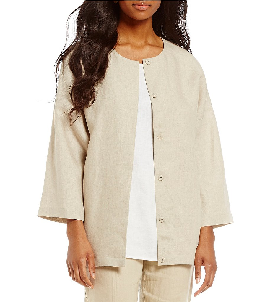 Preston & York Amelia Linen Jacket