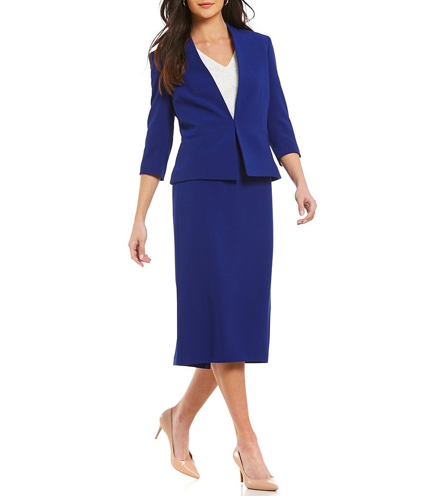Preston & York Doria Jacket & Taylor Midi Pencil Skirt