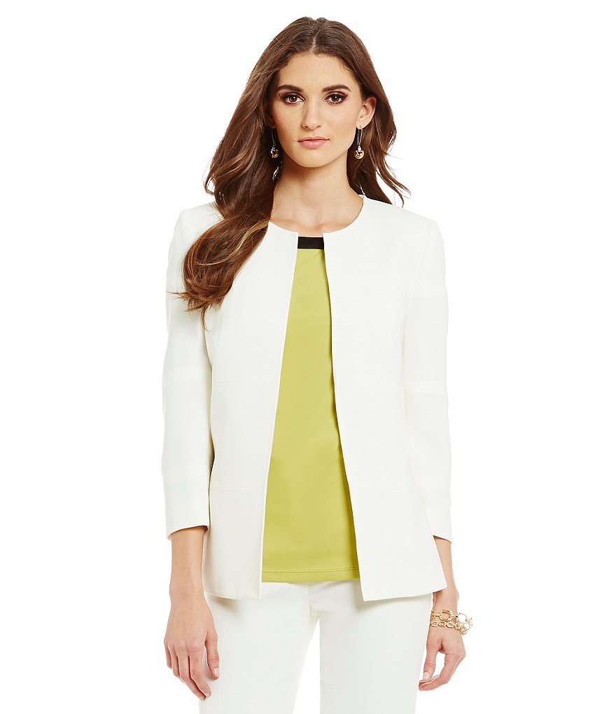 Preston & York Jennifer Stretch Crepe Suiting Jacket