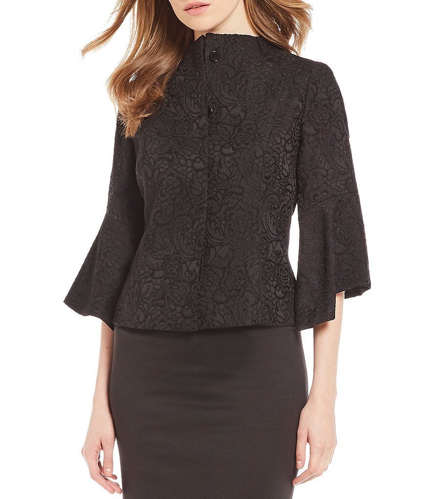 Preston & York Lorelle Deco Jacquard Jacket