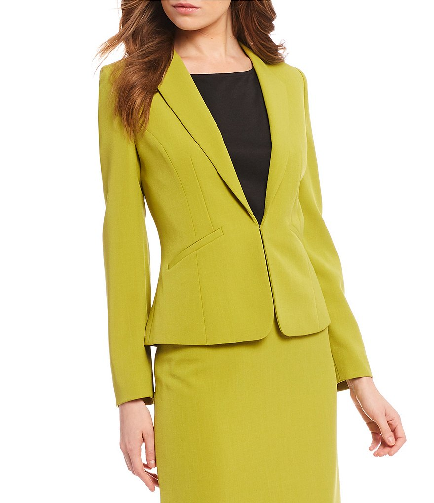 Preston & York Marcie Stretch Crepe Suiting Jacket