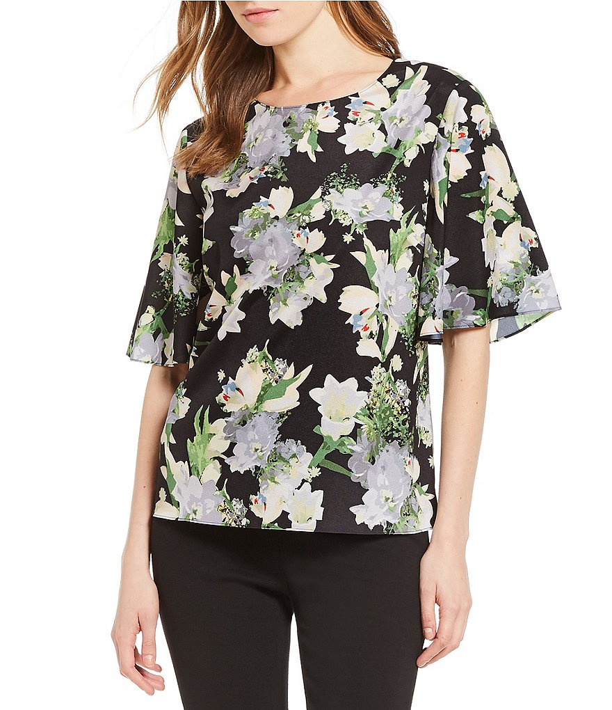Preston & York Nissy Floral Blouse