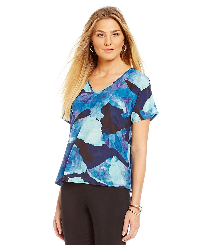 Preston & York Petra Floral Print Blouse