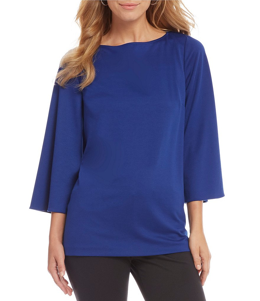 Preston & York Sandra Ponte 3/4 Sleeve Blouse