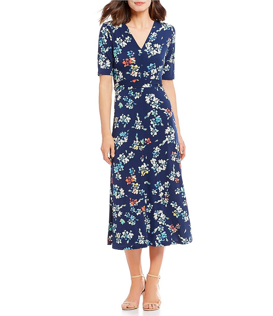Preston & York Sydney Floral Print Dress