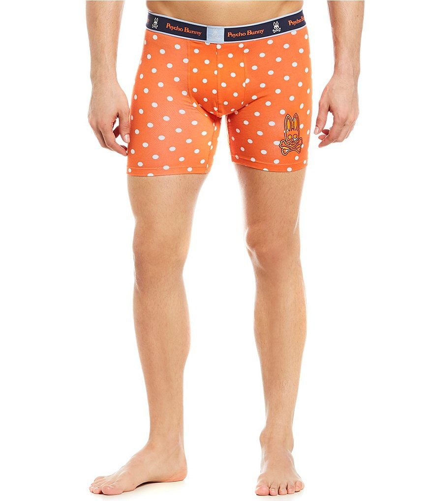 Psycho Bunny Dotted Knit Boxer Briefs