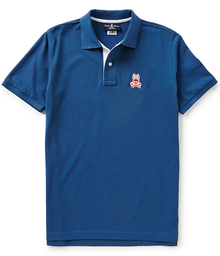 Psycho Bunny Short-Sleeve Cayman Polo Shirt