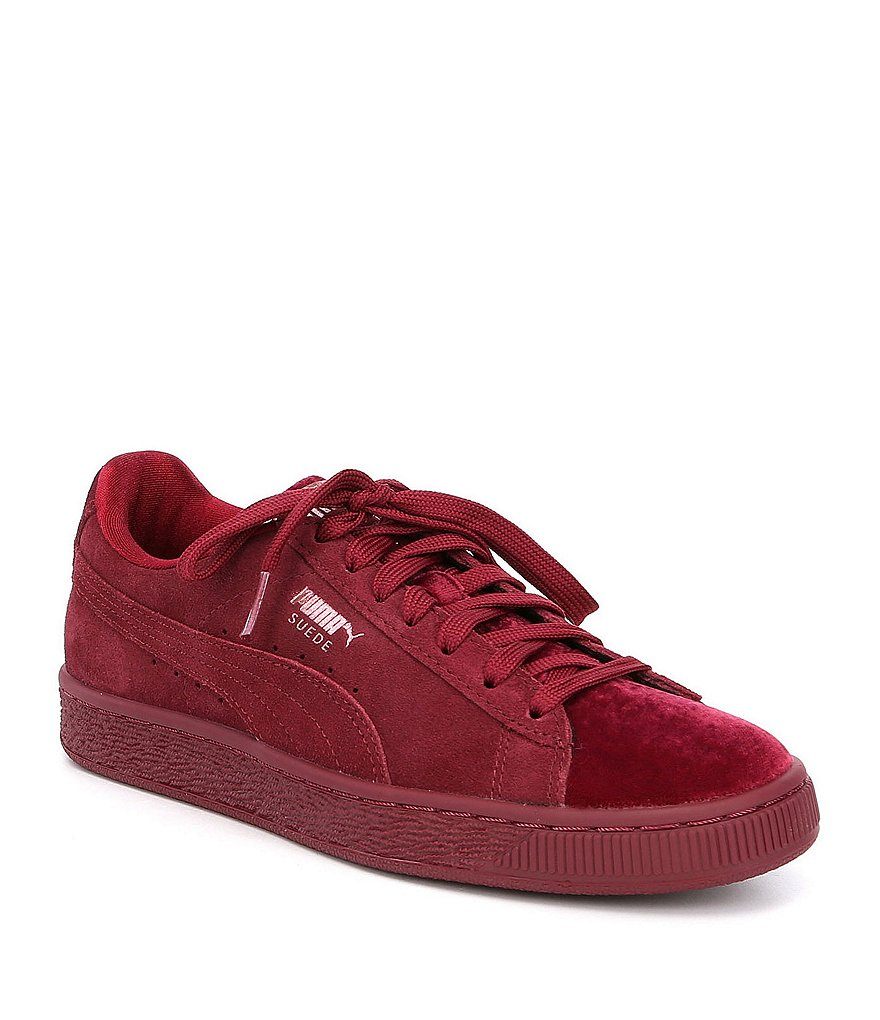 This Burgundy Colorway Of The PUMA Suede Classic Is Flawless ...