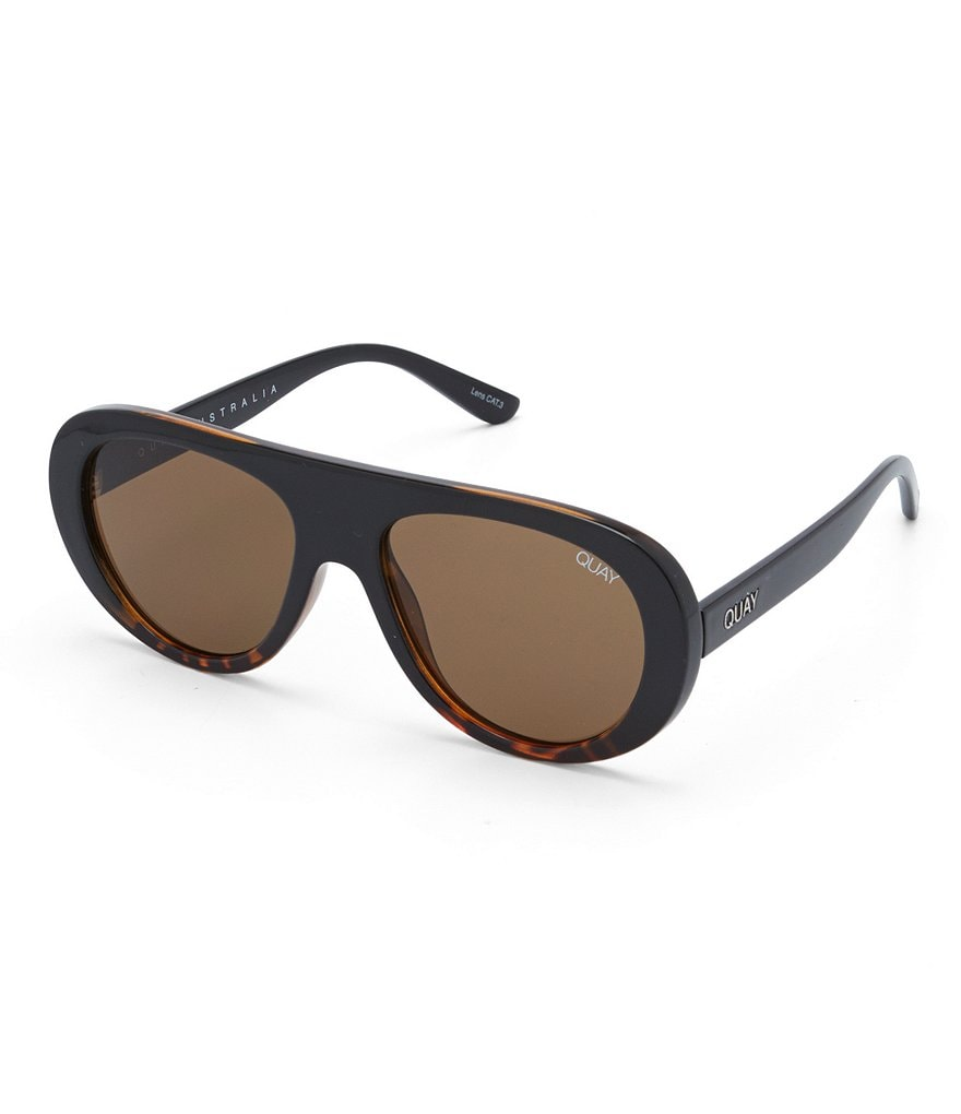 Quay Australia Bold Move Shield Sunglasses