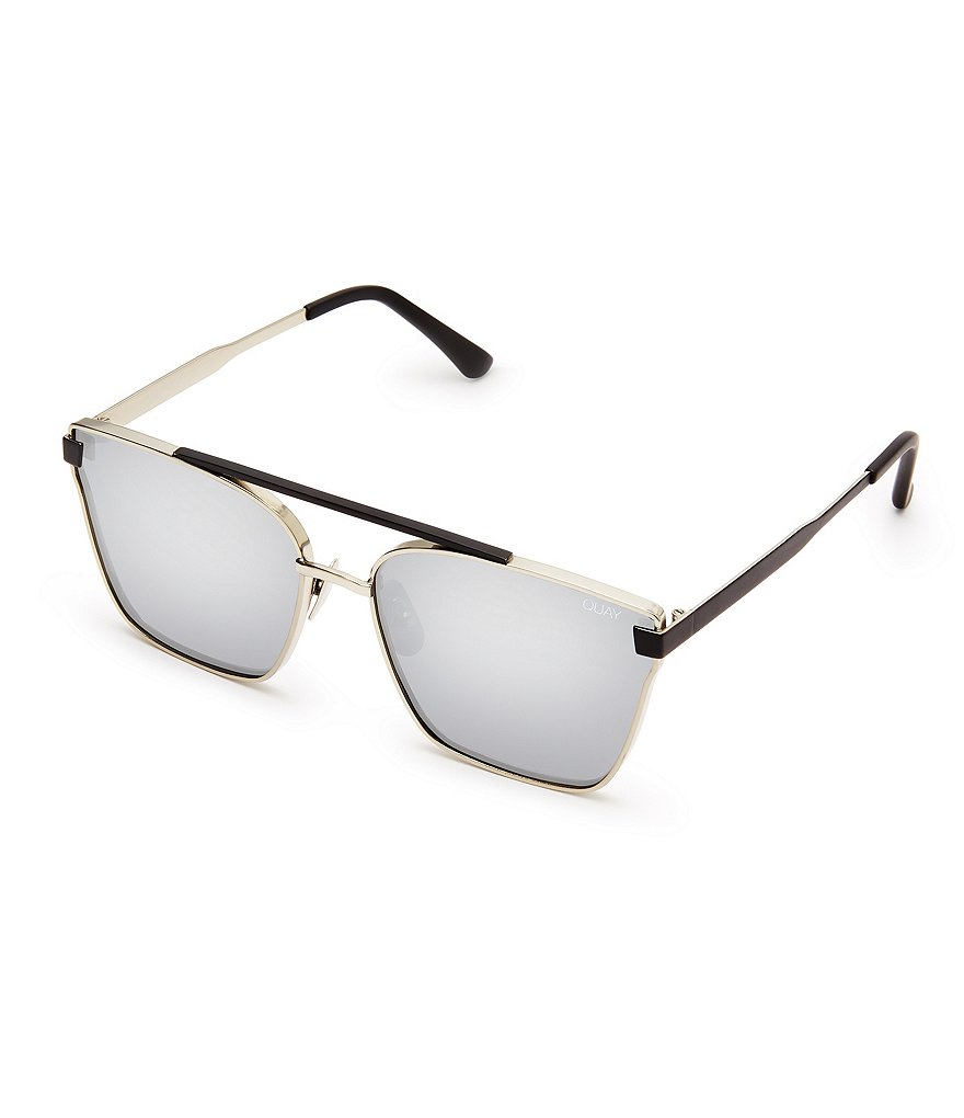 Quay Australia Cassius Flash/Mirror Sunglasses