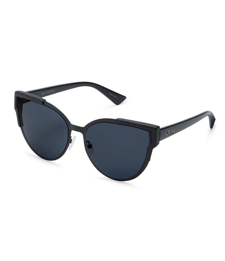 Quay Australia Game On Oversized Cat-Eye Sunglasses